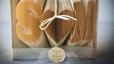 Porta-Aliances - Llibre de pagines doblegades