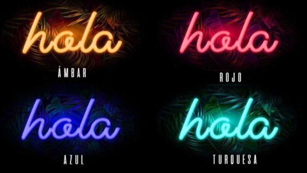 colors a escollir per les llums de neo
