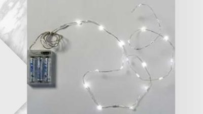 Girnalda mini leds blanques