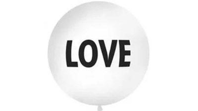 """Globus gegant """"Love"""""""