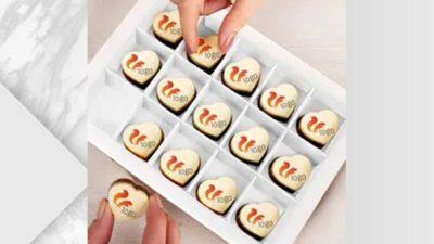bombons de xocolata belga personalitzats