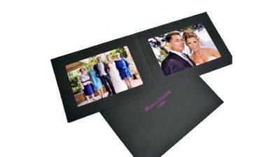 Carpeta paspartout per fotografia idea de regal de casament