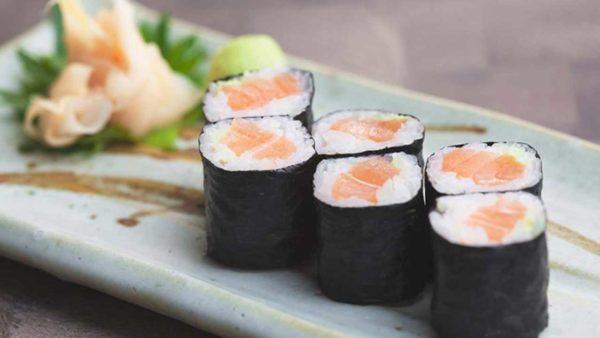Ram a l'Aire servei de show cooking sushi