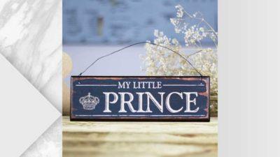 Placa My little prince