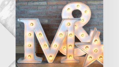 lletres lluminoses serif
