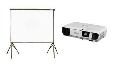 lloguer de projector i pantalla