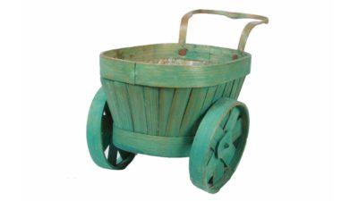 carrito petit verd de jardí