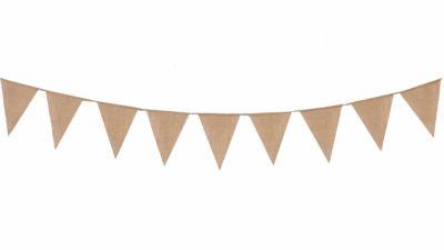 banderola de saca beige