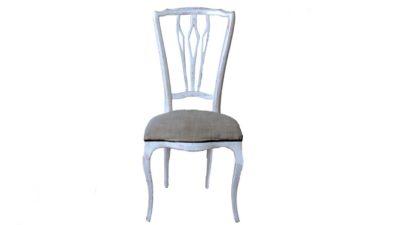 cadira blanca vintage