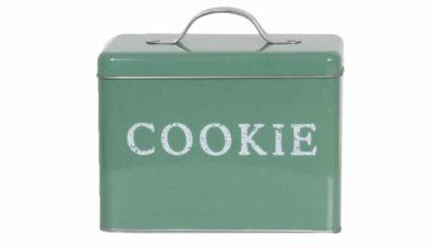 caixa metàlica vintage de galetes