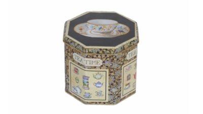 "caixa metàlica vintage ""tea time"""