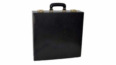 maleta de seguretat negre