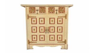 moble vintage de fusta beige