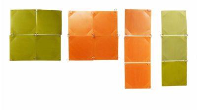 moduls penjafotos verds o taronjes