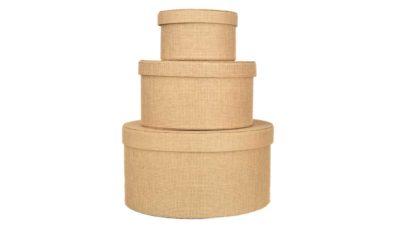 caixes beige apilables simil saca/arpilleria