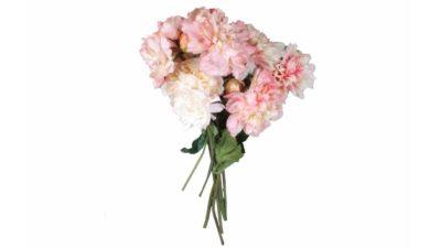 ram de flors artificials roses