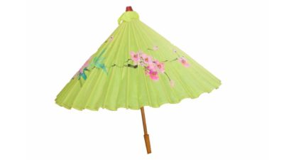 parasol chines verd
