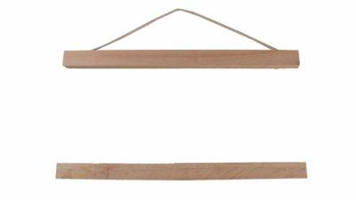 suport de fusta per cartells