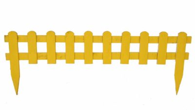 valla groga de fusta