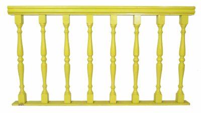 valla verda de fibra de fusta