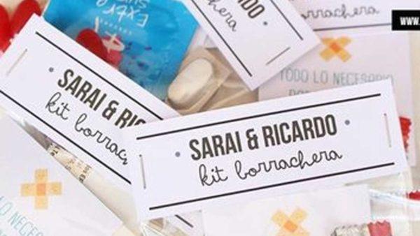 kit de borratxera per convidats o amics