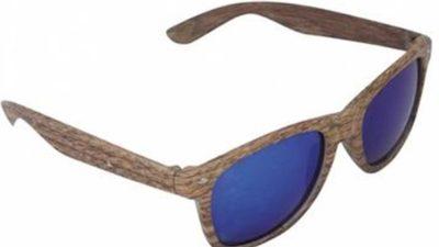 ulleres de sol efecte fusta
