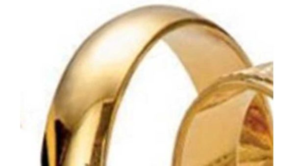 aliança or groc massis de llei 750 mil·lèsimes