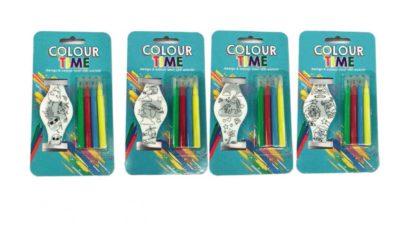 rellotge per colorejar
