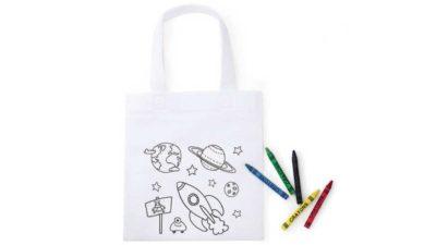 bossa per colorejar model espai
