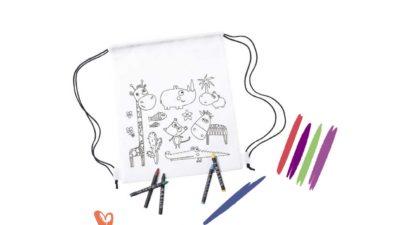 bossa per colorejar safari