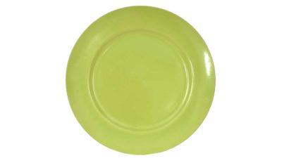 plat de plàstic verd per lloguer