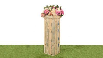 Columna de fusta per lloguer