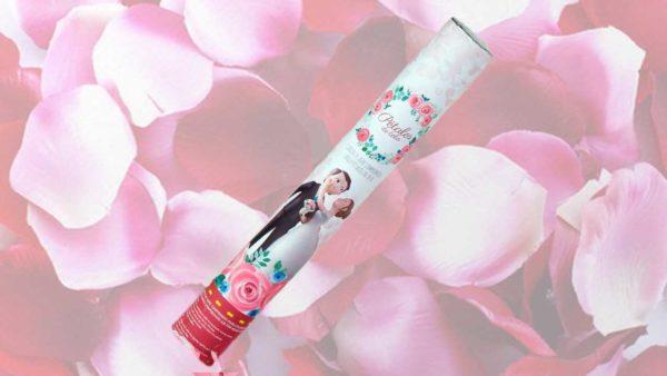 canó de petals de tela