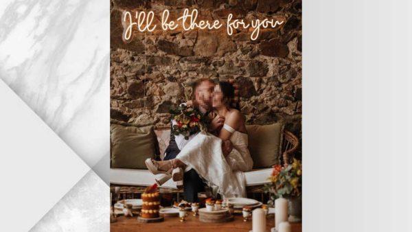 Ramalaire Wedding Planner Serveis De Casament Venda De Productes Llums De Neo Ill Be There For You