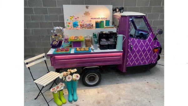 sweet truck la piaggio