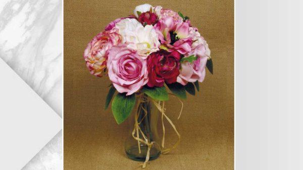 ramalaire wedding planner detalls de casament ram artificial blanc rosa vermell