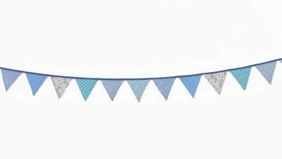 ramalaire wedding planner detalls de casament material de lloguer banderola tons blaus foscos per decoracio de casament