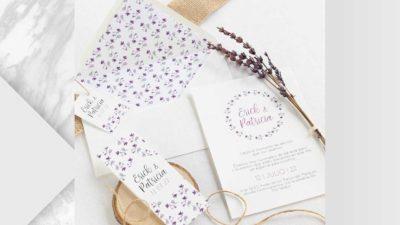 ramalaire wedding planner serveis de casament venda de productes invitacions malva 1