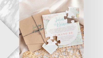 ramalaire wedding planner servei de venda de productes venda de invitacions invitacio puzzle trabel
